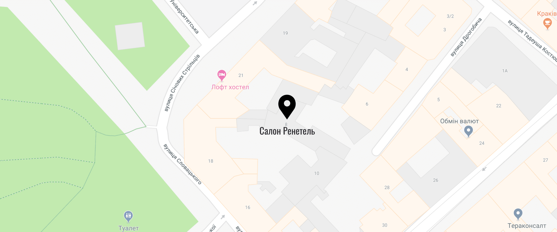 Location of lviv on map